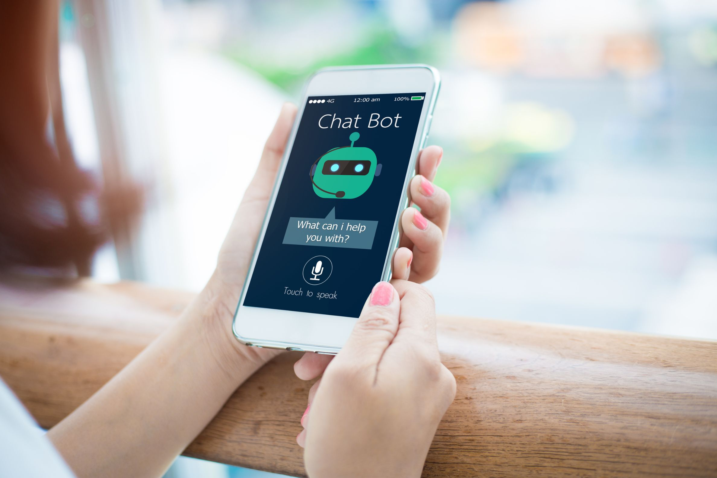 Live chat or chatbots